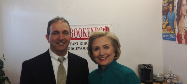 Secretary Clinton in Ridgewood