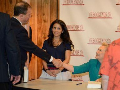 Secretary Clinton Book Signing....